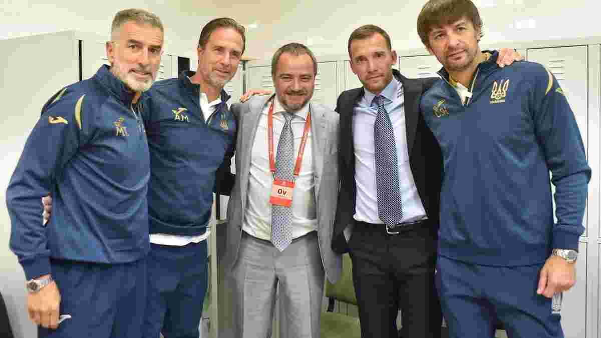 Павелко назвав причини відходу Шевченка та спрогнозував майбутнє тренера