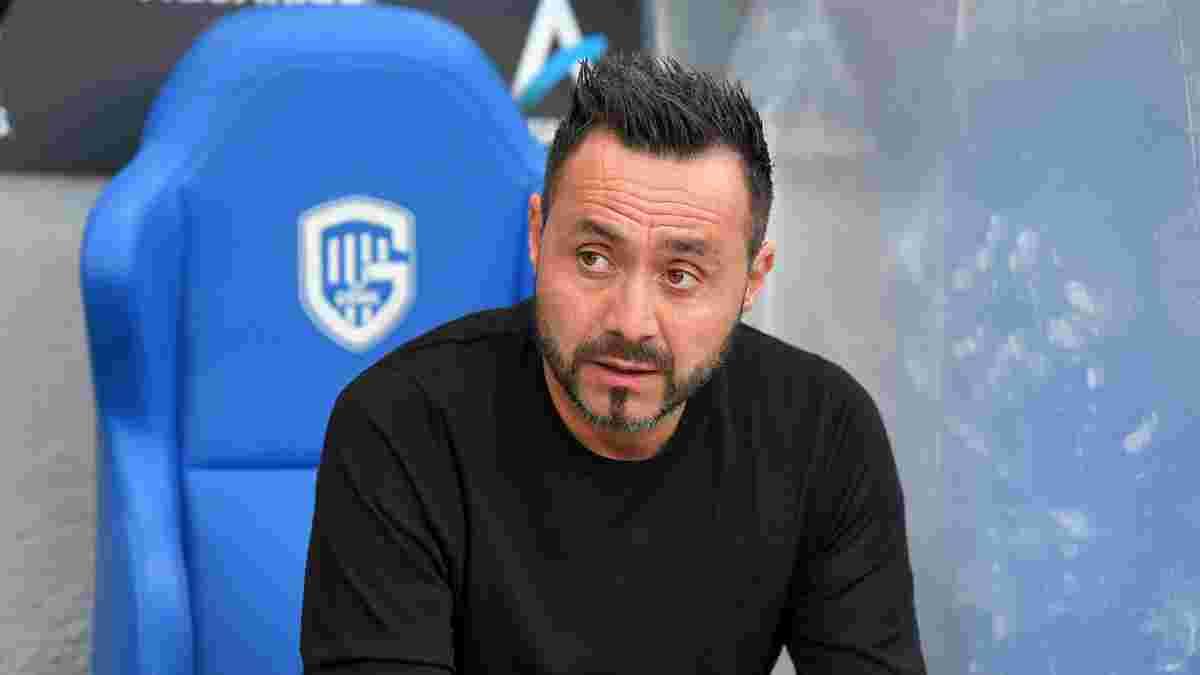 Генк – Шахтер: Де Дзерби оценил игру своих подопечных в матче Лиги чемпионов