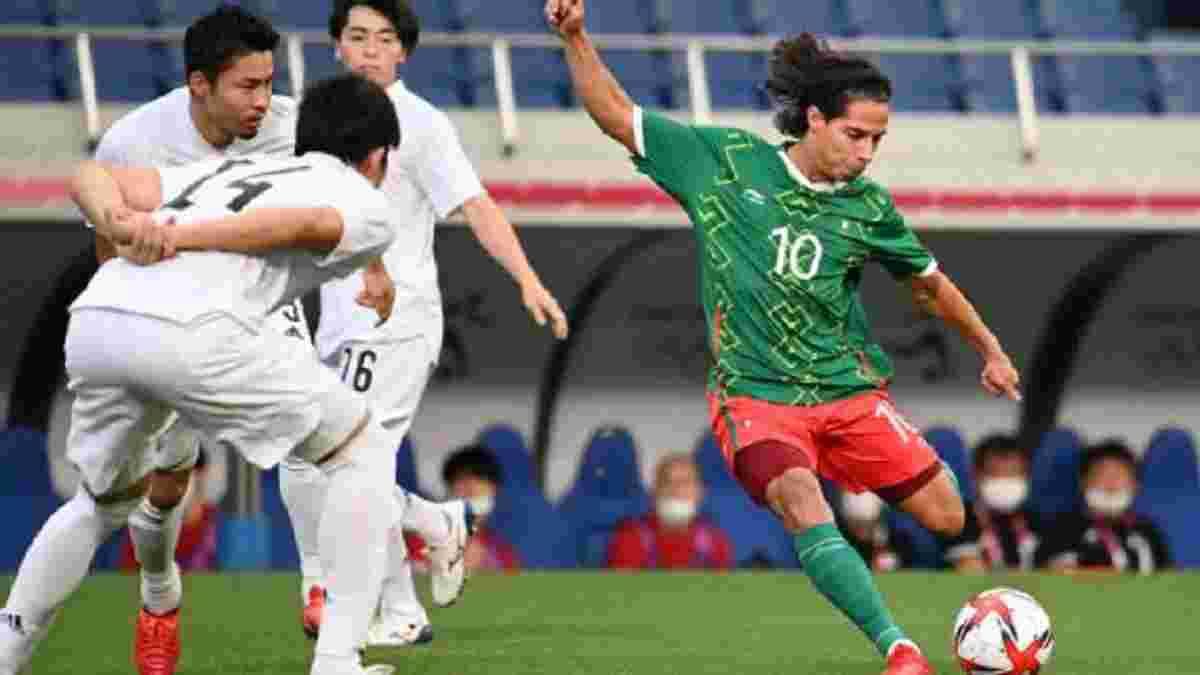 Битва на вагу олімпійської медалі у відеоогляді матчу Мексика – Японія