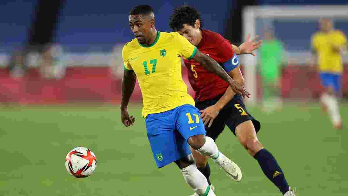 Бразилія дотиснула Іспанію і вдруге поспіль виграла Олімпійські ігри – Дані Алвес здобув 46-й трофей у кар'єрі