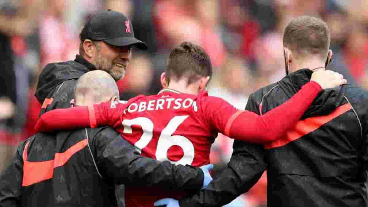 Ліверпуль втратив Робертсона – відео моторошної травми