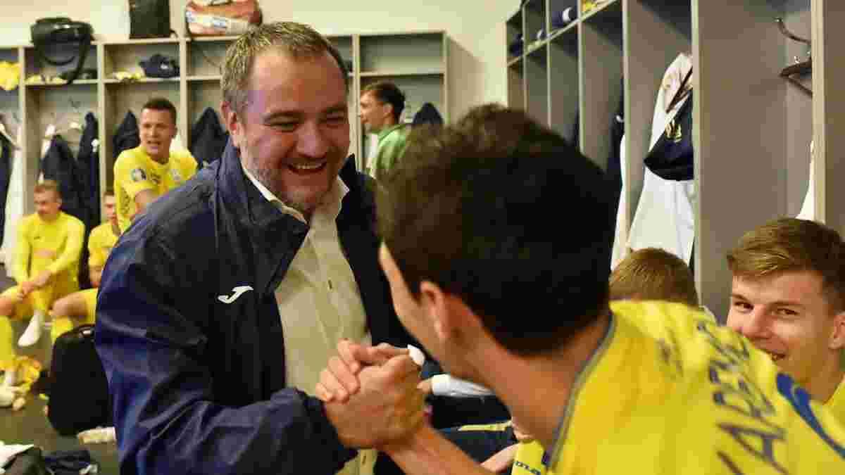 Павелко озвучив преміальні збірної України за Євро-2020