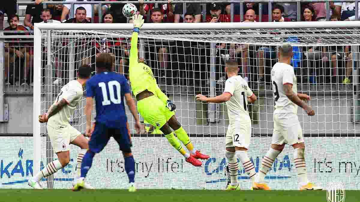 Розкішний сейв Луніна і подвиг наступника Доннарумми у відеоогляді матчу Реал – Мілан