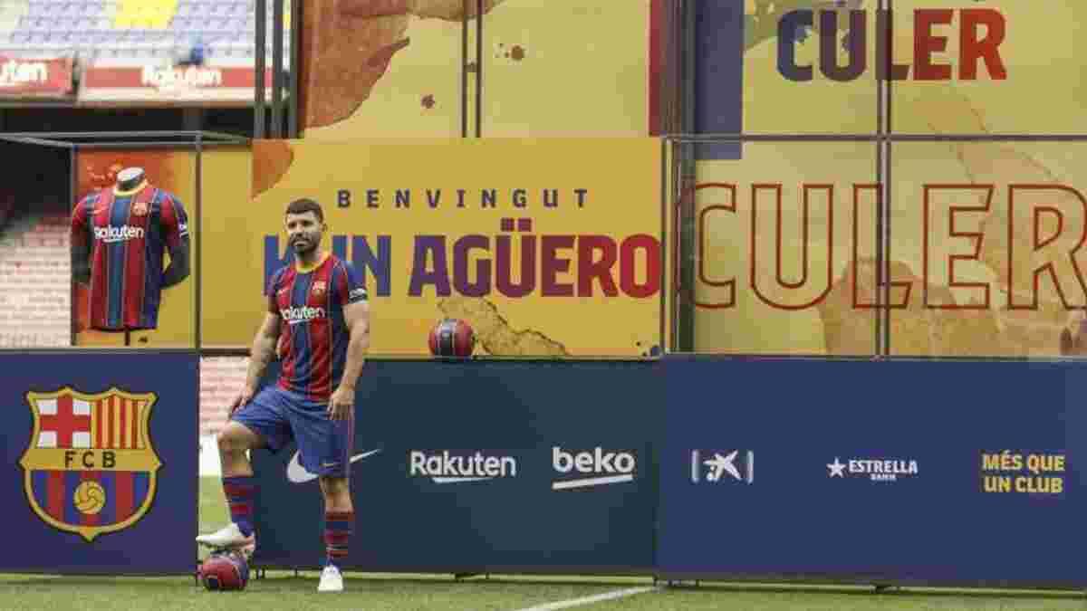Агуэро пропустит старт сезона – ветеран еще не провел ни минуты в Барселоне