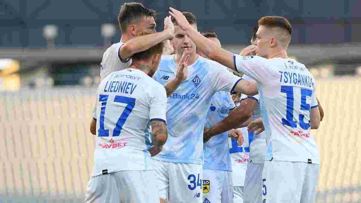 Динамо одержало юбилейную победу в УПЛ – рекорд среди украинских клубов