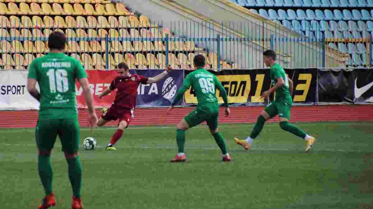 Оболонь впевнено обіграла Ужгород – новачок Першої ліги зазнав третьої поразки поспіль