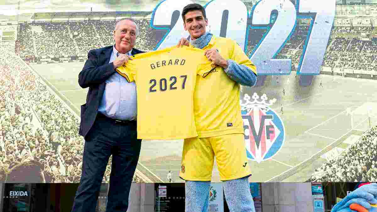Вильярреал продлил контракт с Морено на гигантский срок