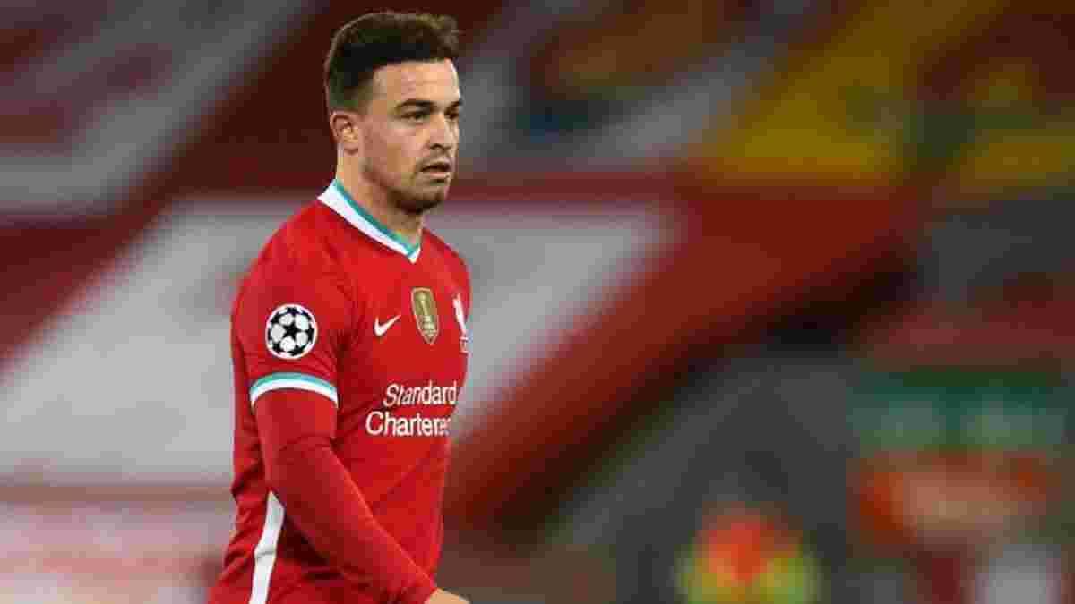 Ливерпуль ведет переговоры о продаже Шакири в Лион – клубы разделяют всего 2 миллиона евро