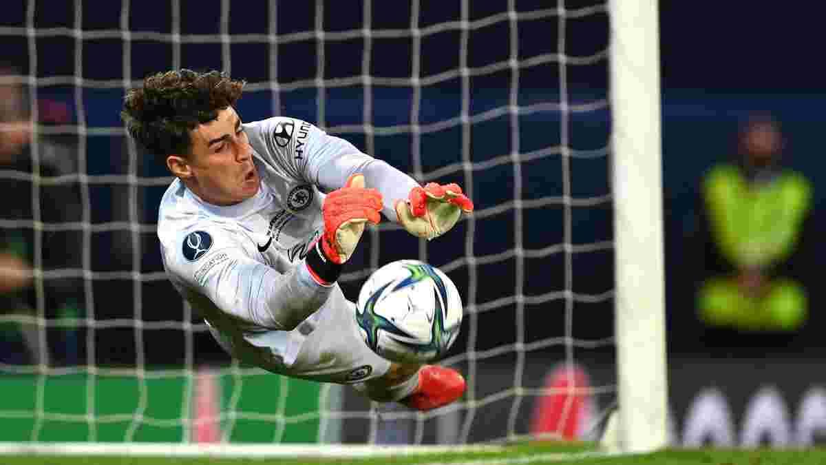 Кепа морально уничтожил Альбиоля перед решающим пенальти в Суперкубке УЕФА – 35-летний ветеран повелся на провокацию