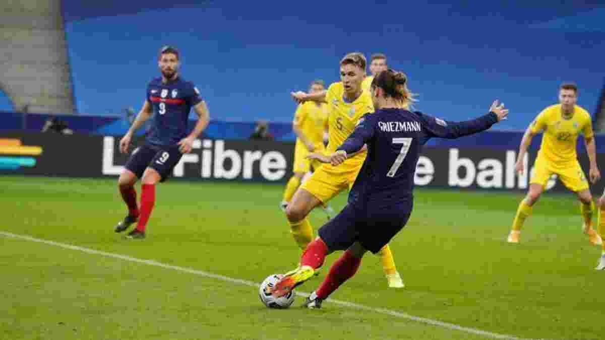 Украина – Франция: стартовала продажа билетов на матч квалификации к ЧМ-2022