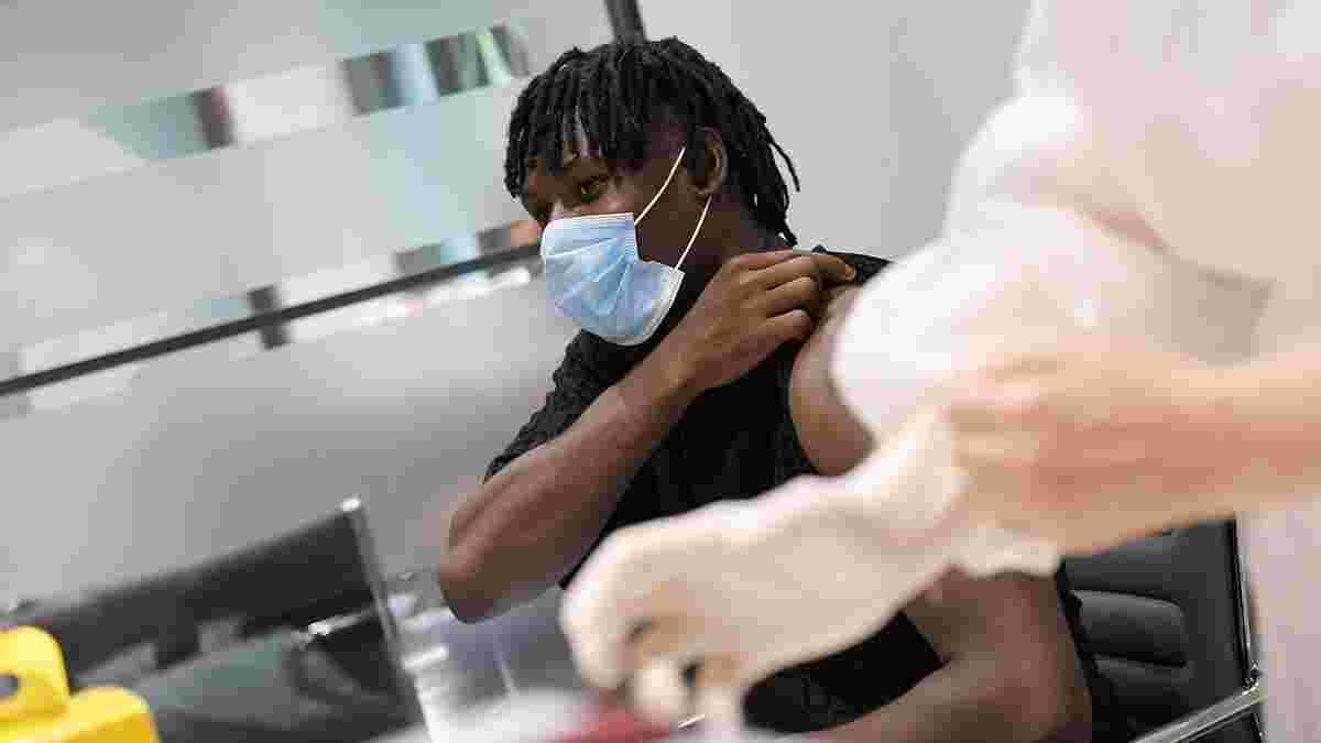 Шахтар пройшов другий етап вакцинації