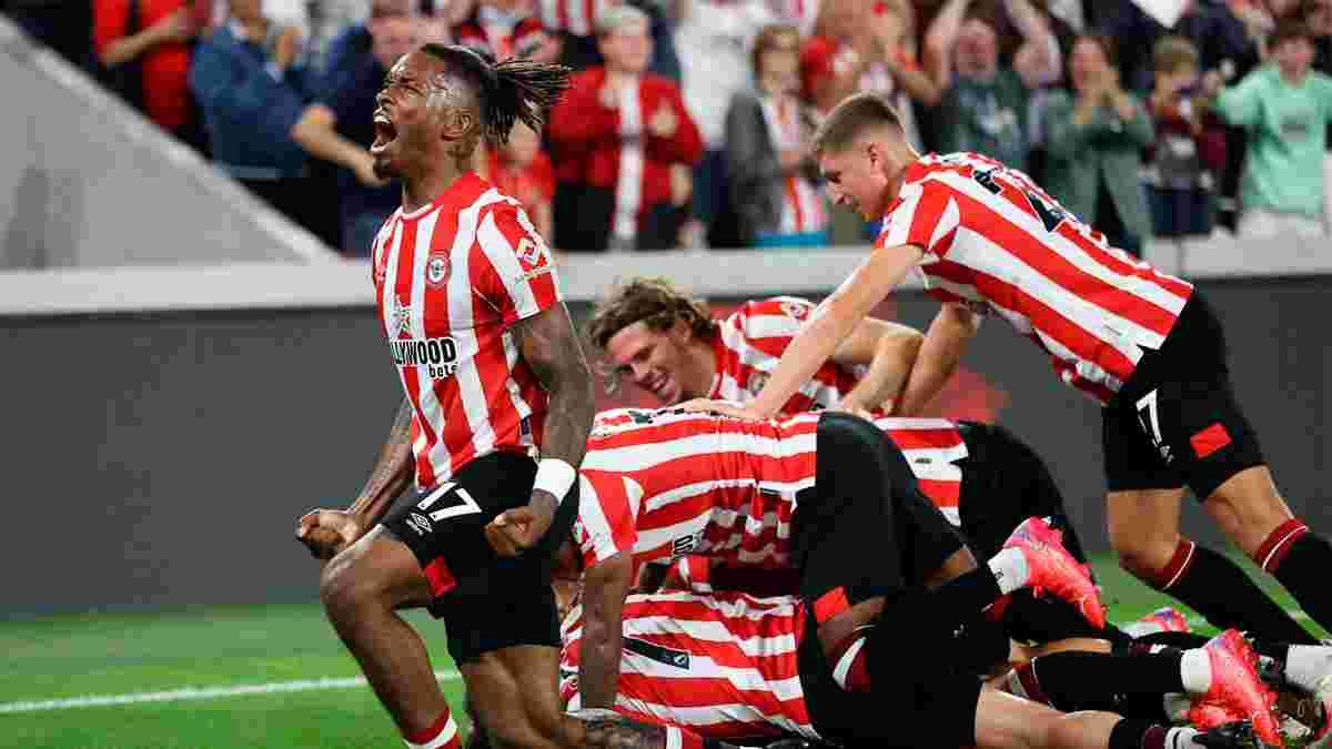 Брентфорд одержал сенсационную победу над Арсеналом в дебютном матче в АПЛ