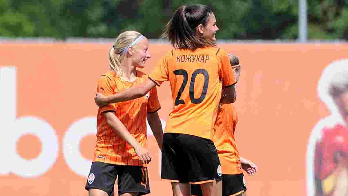 Жіноча команда Шахтаря зіграла перший офіційний матч у історії – нищівна перемога та нефарт головної бомбардирки