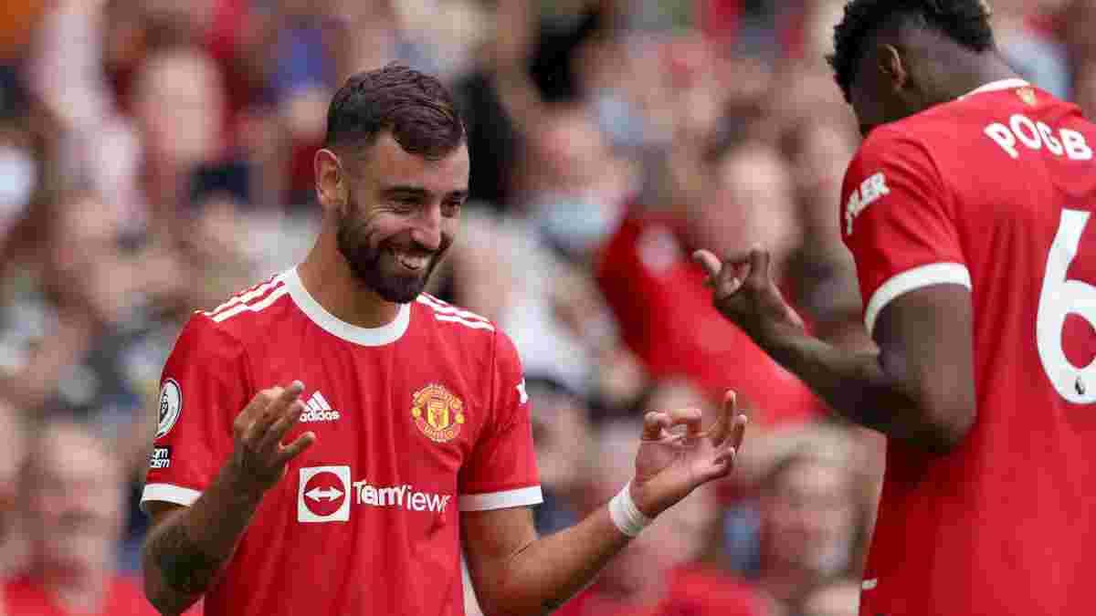 Феєрія Фернандеша та Погба у відеоогляді матчу Манчестер Юнайтед – Лідс – 5:1