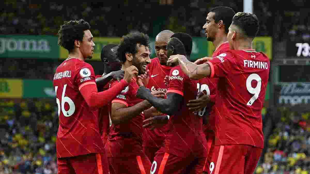 Норвич – Ливерпуль – 0:3 – видео голов и обзор матча