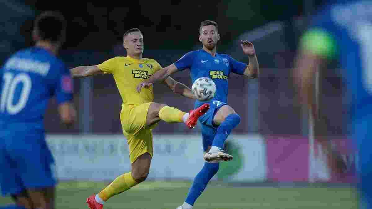 Десна – СК Дніпро-1 – 2:1 – відео голів та огляд матчу