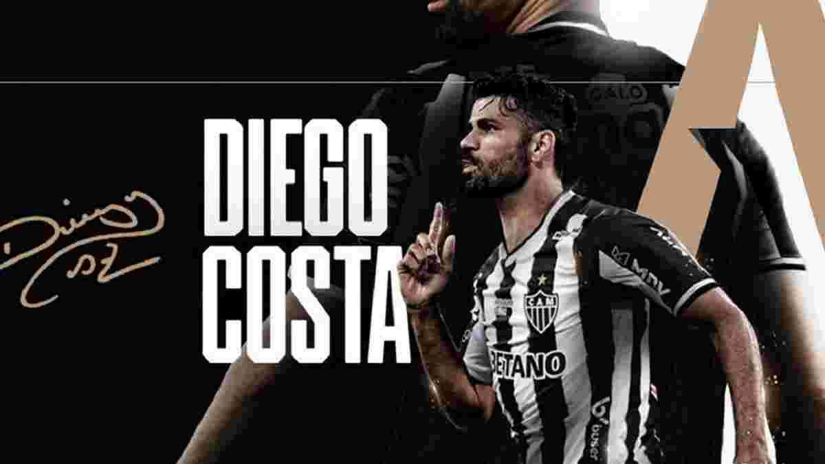 Диего Коста официально подписал контракт с новым клубом
