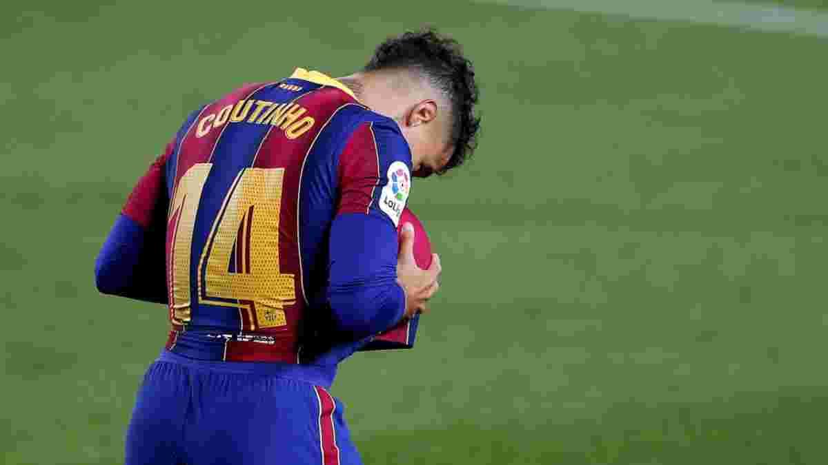Барселона готова идти на жертвы, чтобы избавиться от Коутиньо – опальный бразилец получил еще один вариант