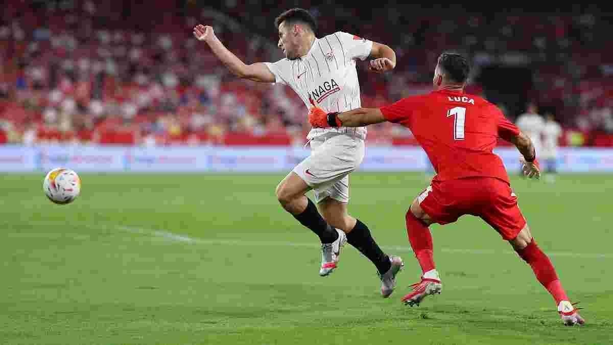 Нелепая красная сына Зидана в видеообзоре матча Севилья – Райо Вальекано – 3:0