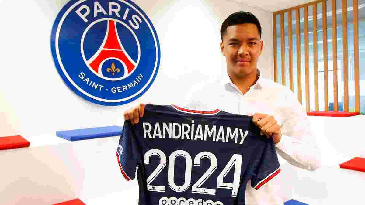 ПСЖ подписал контракт с 18-летним голкипером из Мадагаскара