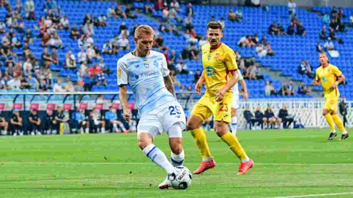 Ингулец – Динамо – 1:1 – видео голов и обзор матча