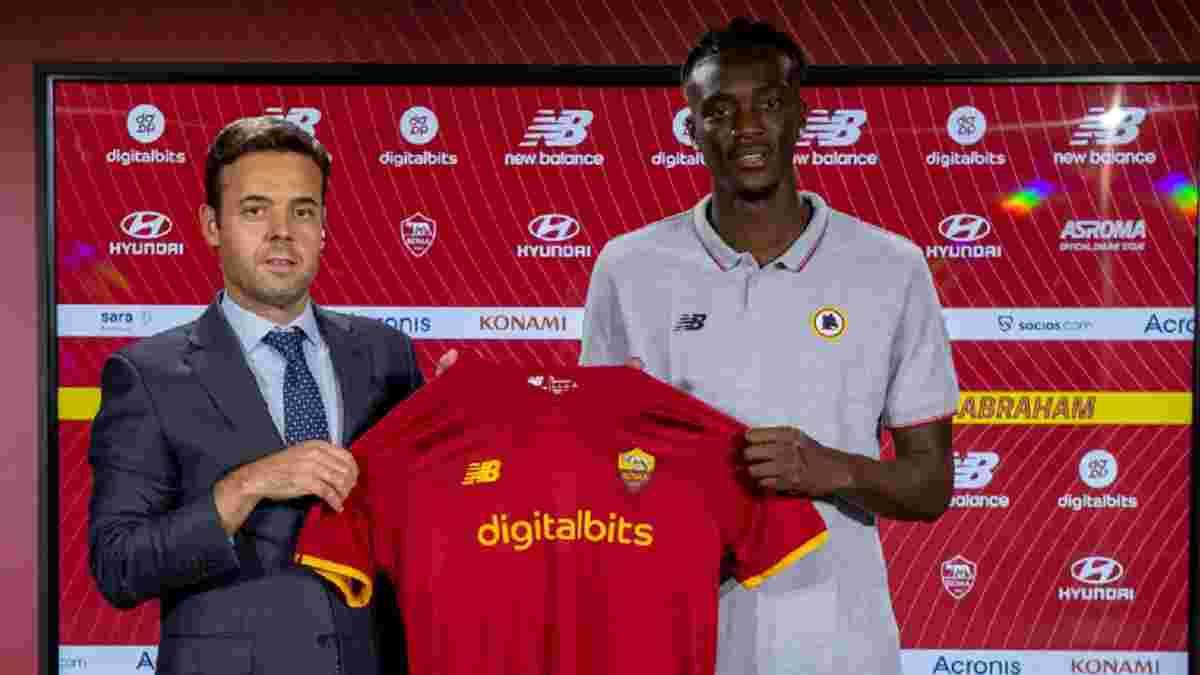 Рома офіційно придбала Абрахама у Челсі за 40 млн євро