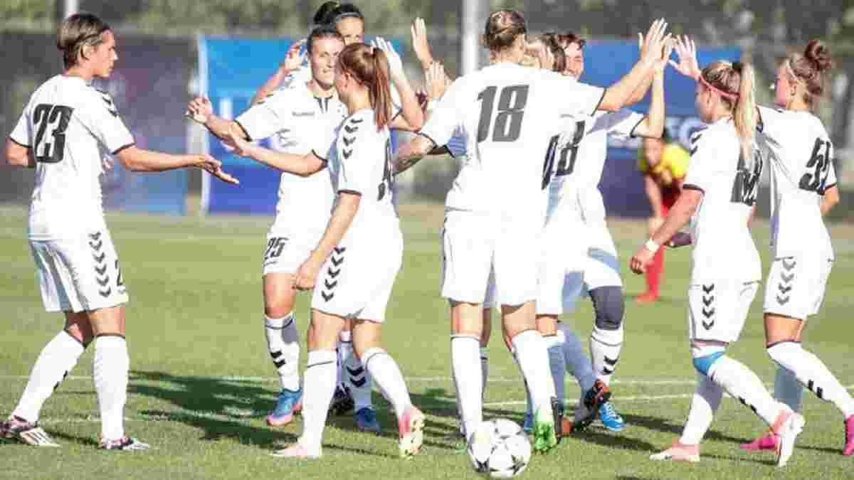 Жіноча Ліга чемпіонів: Житлобуд-1 розгромив болгарську Софію і вийшов до фіналу першого раунду турніру