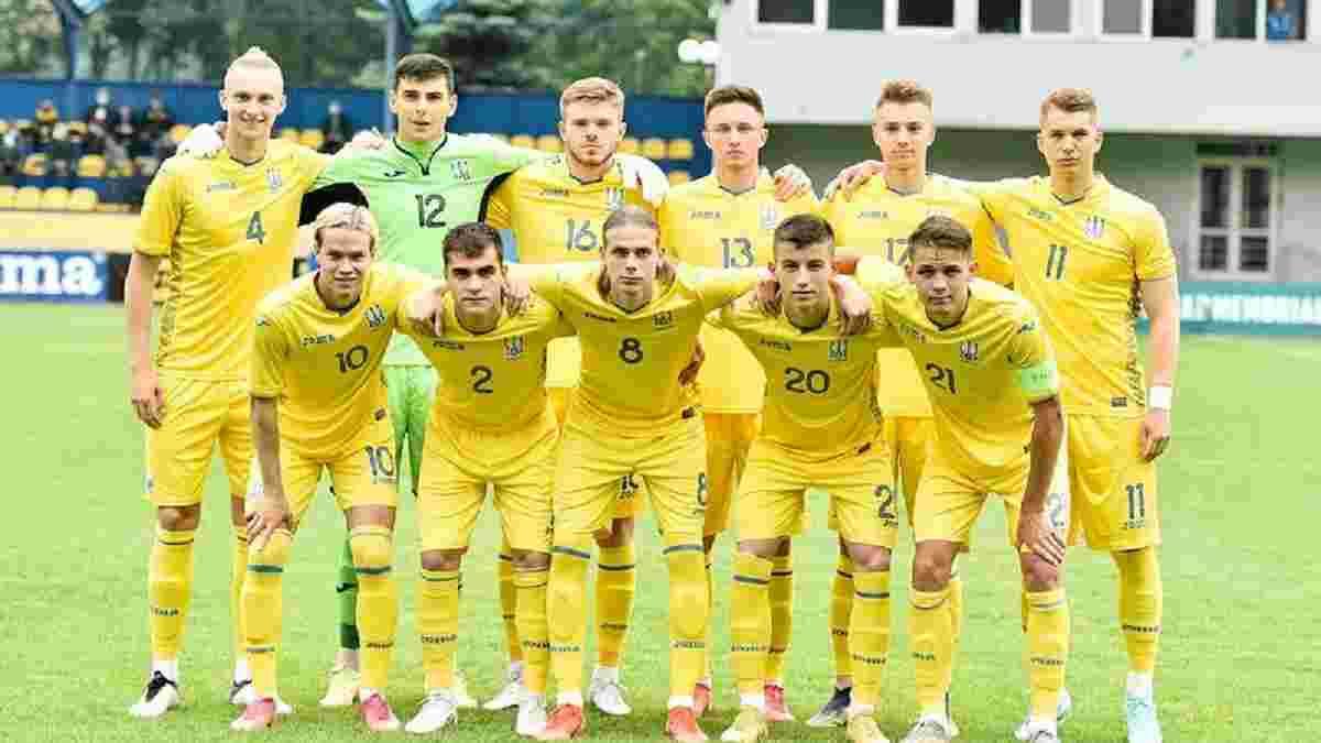 Ротань объявил заявку молодежной сборной Украины на матчи отбора к Евро-2023