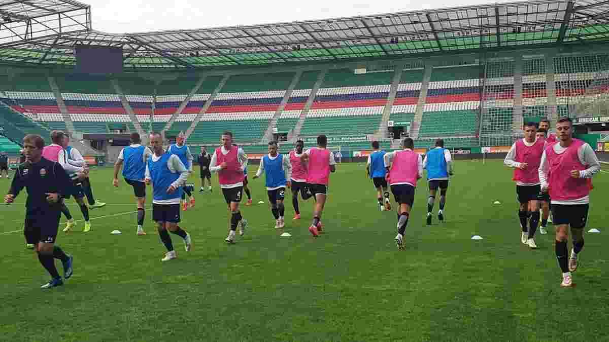 Рафаилов: Игра Зари не соответствует уровню группового этапа Лиги Европы