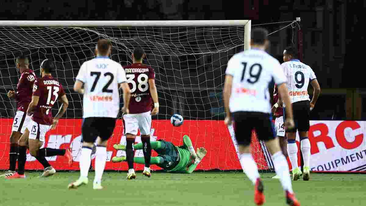 Тяжелый старт Аталанты с Малиновским в видеообзоре матча против Торино