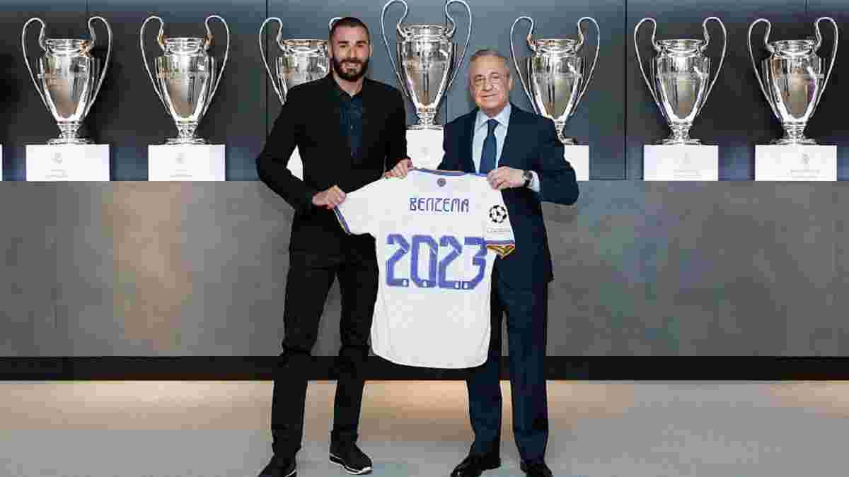 Реал офіційно продовжив контракт з Бензема, порушивши своє правило