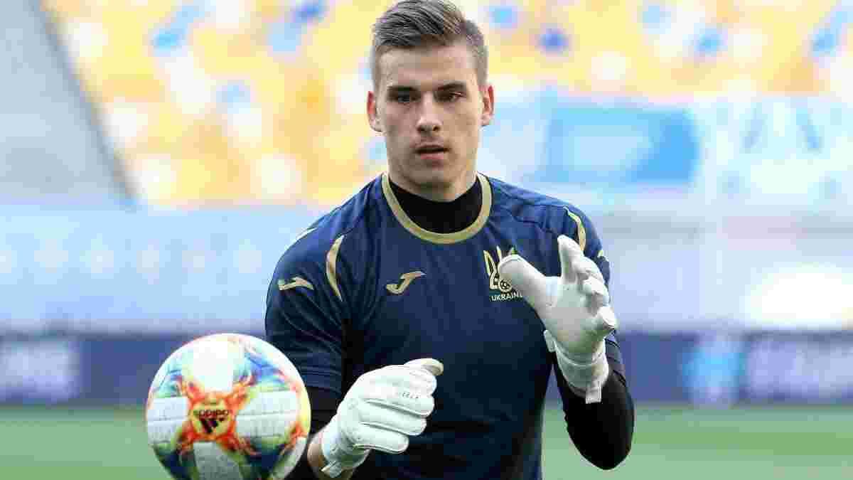 """""""Завдяки вашій вірі в мене я продовжував насолоджуватися футболом"""": Лунін подякував Шевченку за роботу у збірній України"""