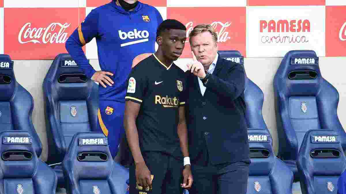 Моріба змінює футбольне громадянство – вередливий талант Барселони відмовився виступати за Іспанію