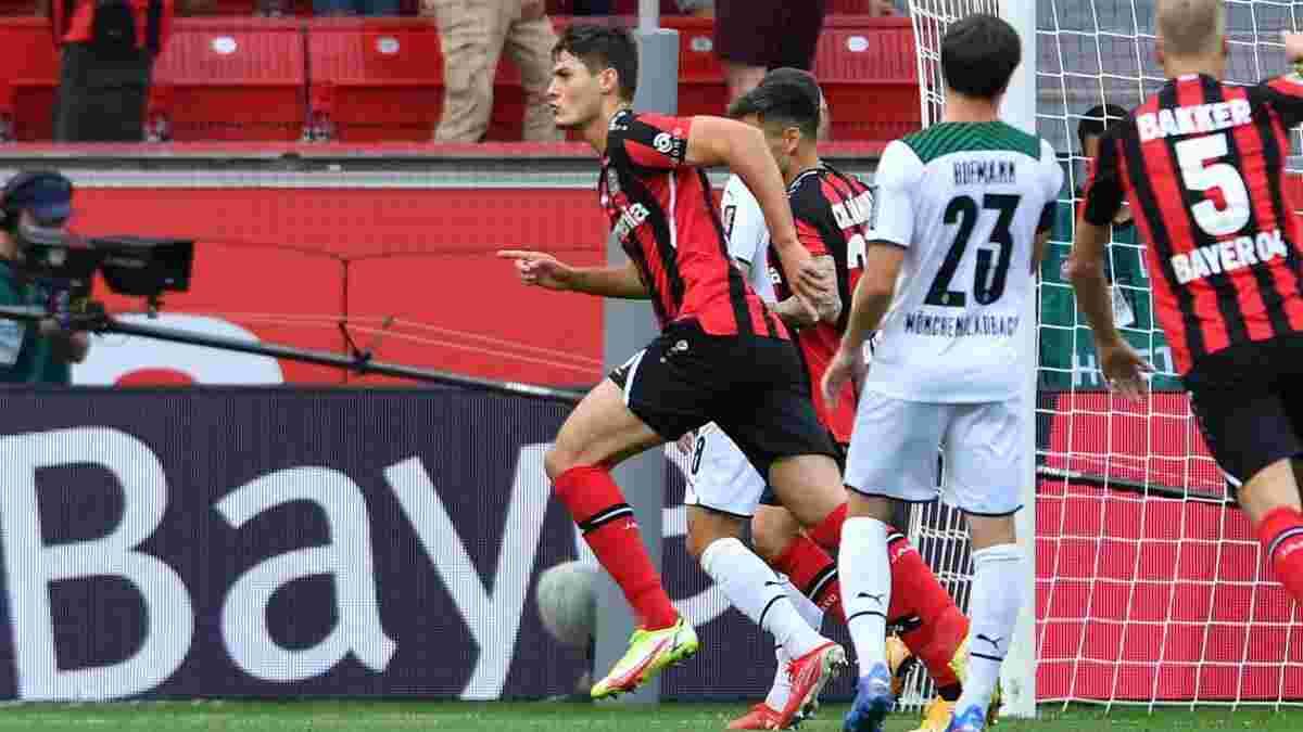 Леверкузенський погром у відеоогляді матчу Байєр – Борусія М – 4:0