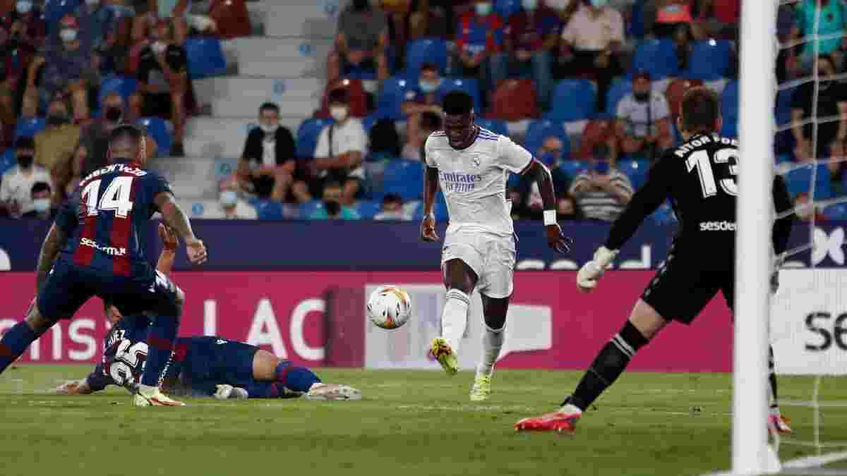 Леванте – Реал – 3:3 – видео голов и обзор матча