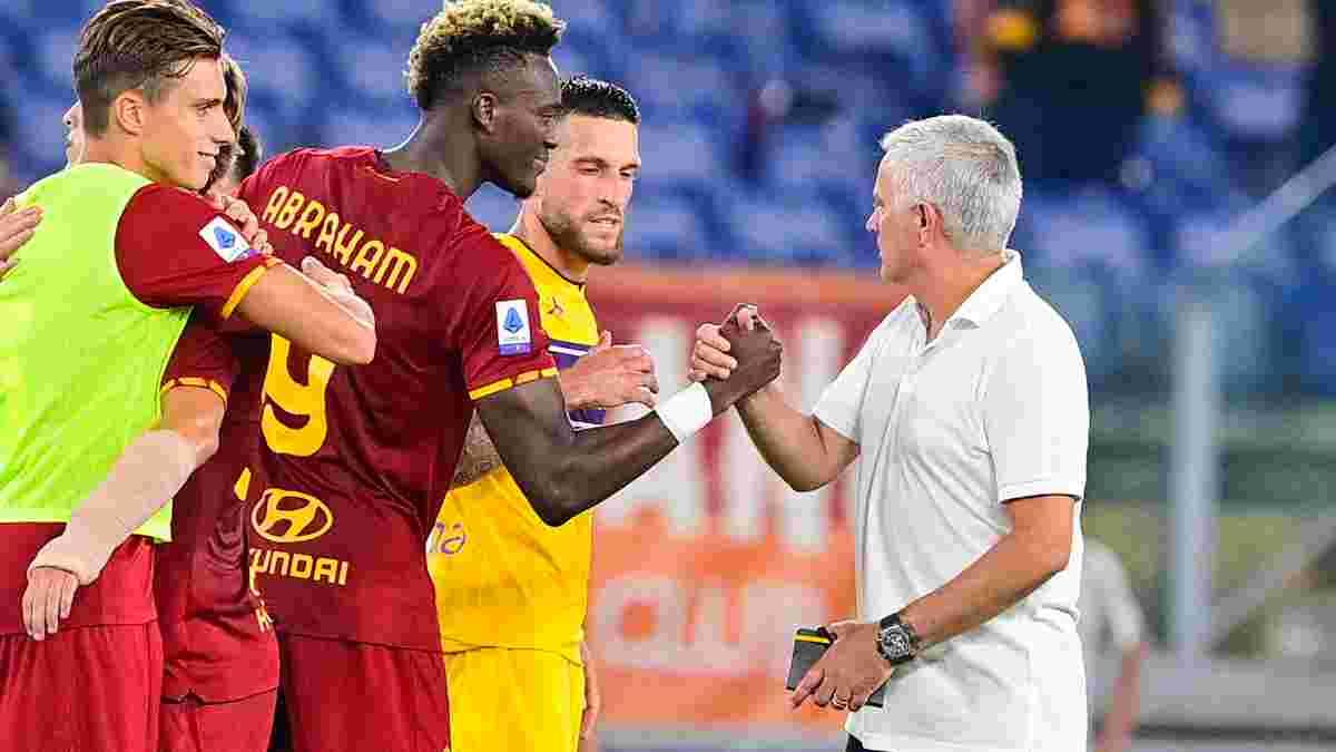 Черговий рекорд Моурінью у відеоогляді матчу Рома – Фіорентина – 3:1