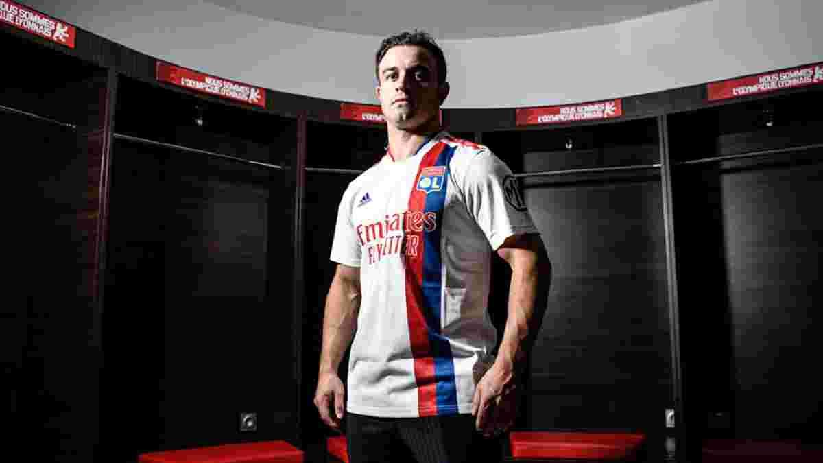 Шакірі офіційно став гравцем Ліона