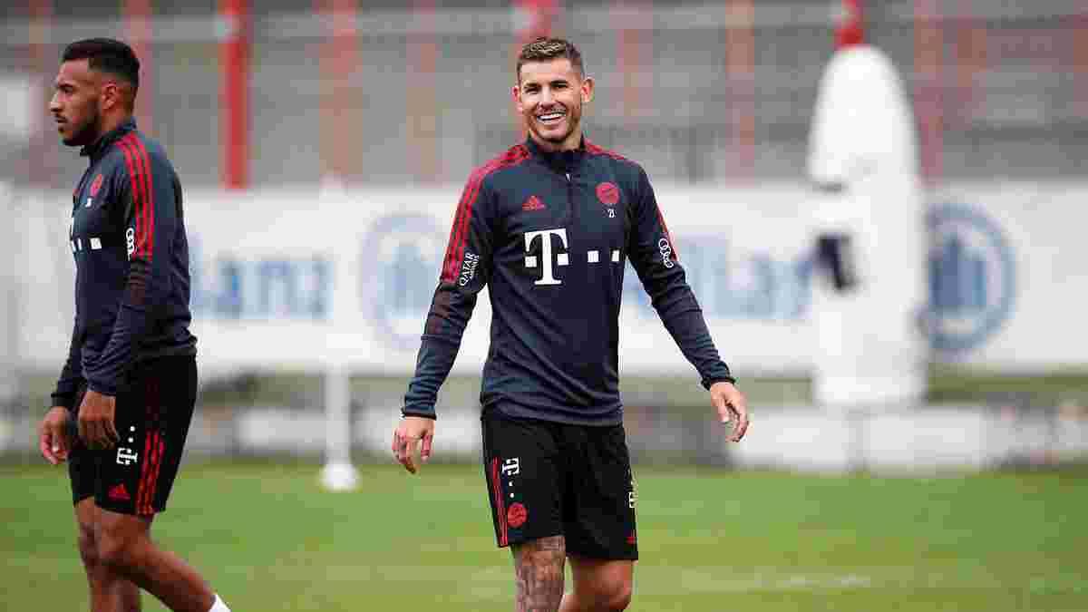 Ернандес повернувся до тренувань із Баварією