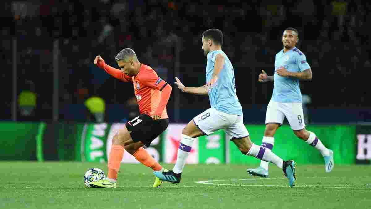 Манчестер Сити потроллил Шахтер из-за выхода в групповой этап Лиги чемпионов