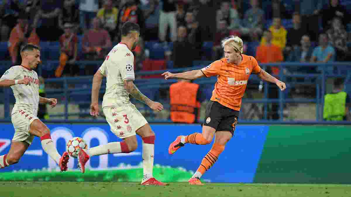 Шахтар – Монако: Мудрик прокоментував гол на вагу Ліги чемпіонів і жорстке виховання від Степаненка
