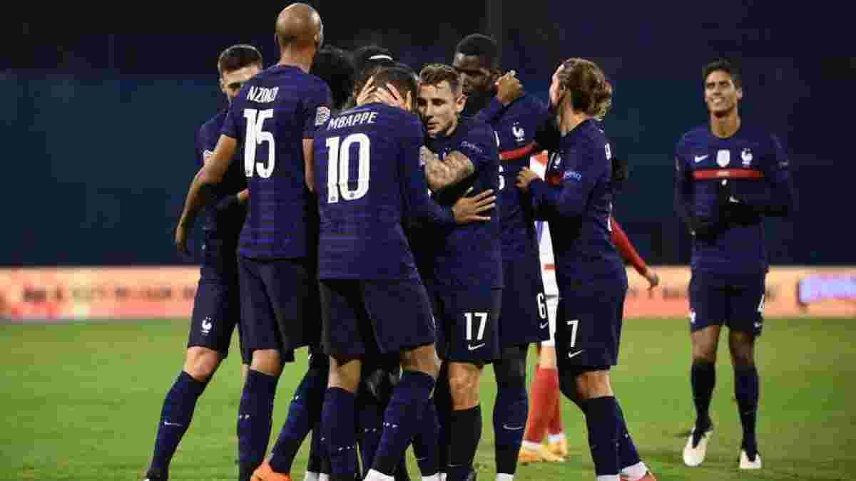 """Украина – Франция: """"Ле Блё"""" объявили заявку на матч отбора к ЧМ-2022 – сразу 4 дебютанта"""