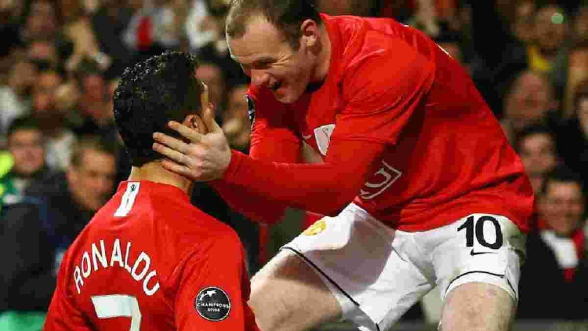 Руні застеріг Роналду від переходу в Манчестер Сіті