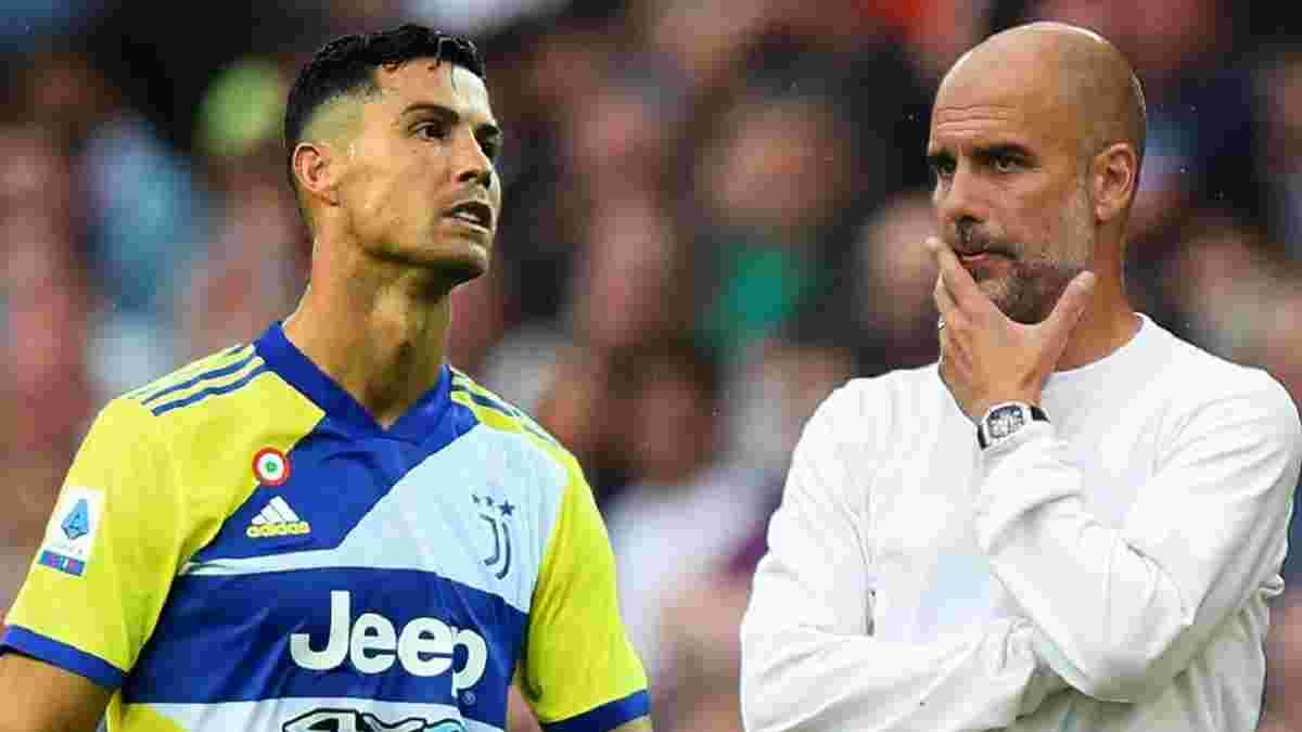 Гвардіола – про можливий трансфер Роналду: Це вирішує Кріштіану, а не Манчестер Сіті чи я