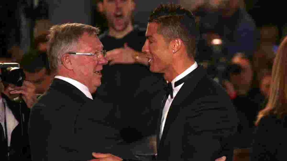 Фергюсон повлиял на желание Манчестер Юнайтед вернуть Роналду