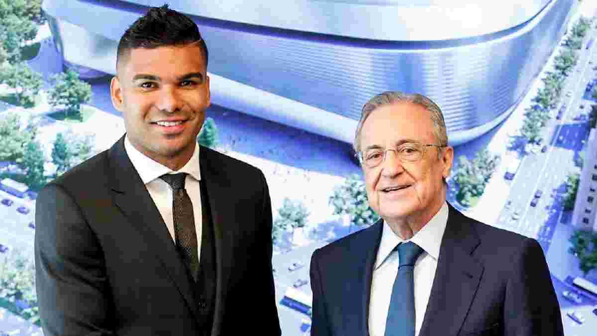 Каземиро продлил контракт с Реалом