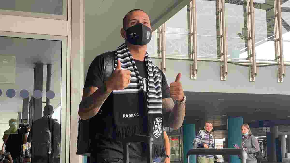 Динамо объявило о трансфере Сидклея в ПАОК