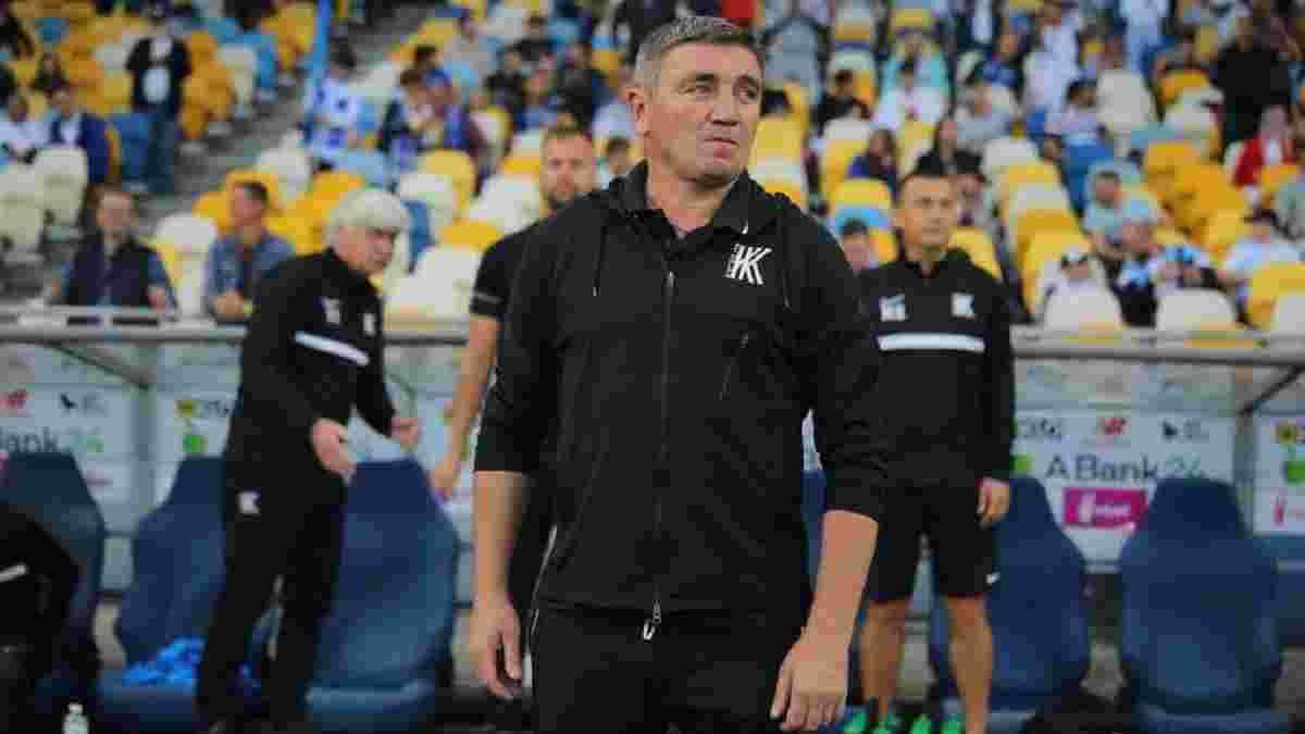 Костишин пішов у відставку з посади головного тренера Колоса після побиття від Динамо