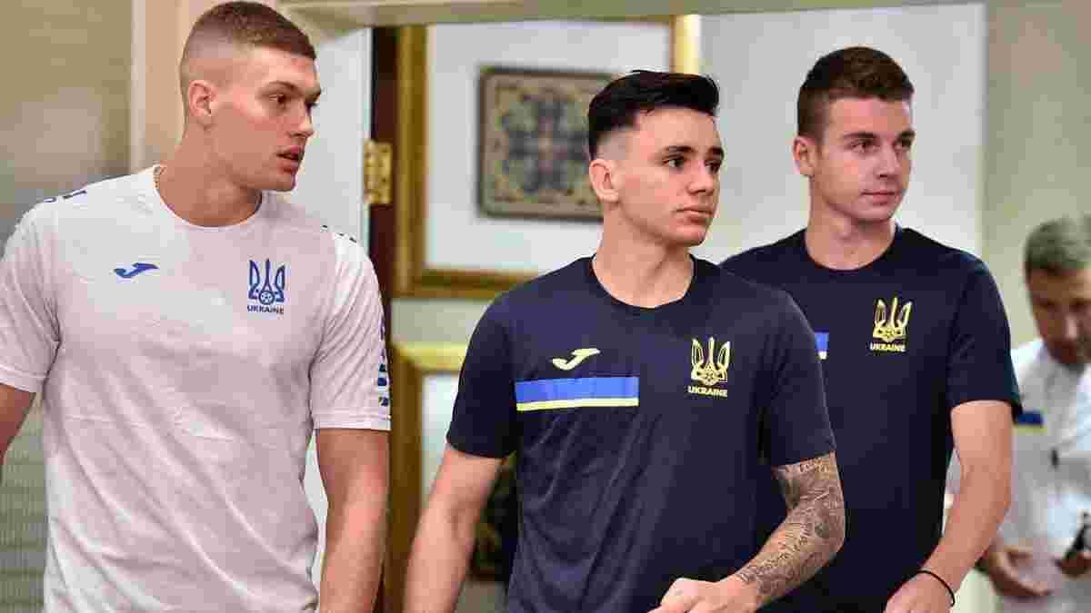 Збірна України розпочала збір перед черговими матчами відбору до ЧС-2022