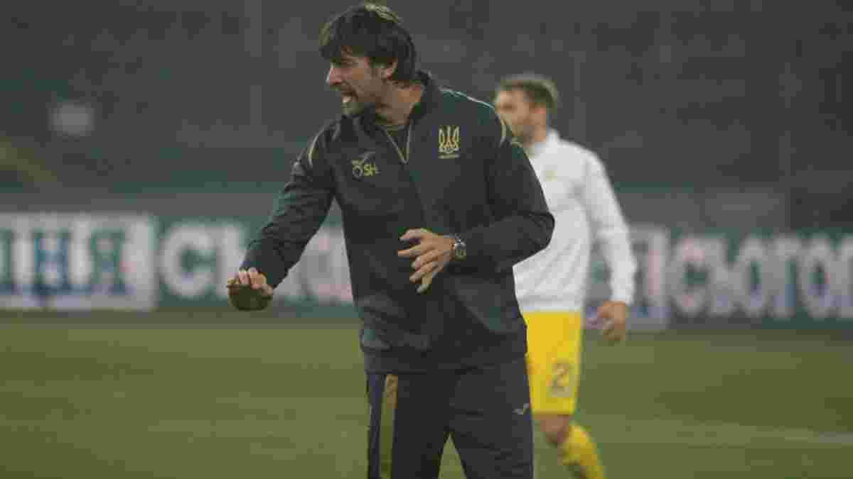 Шовковський розкрив свої функції у тренерському штабі Петракова