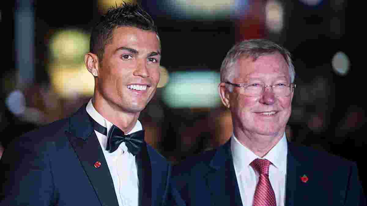 Роналду присвятив Фергюсону своє повернення в Манчестер Юнайтед та дав амбітну обіцянку